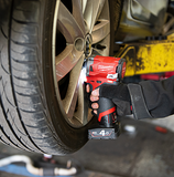 M12FIWF12 Impact Wrench Repairing a Car