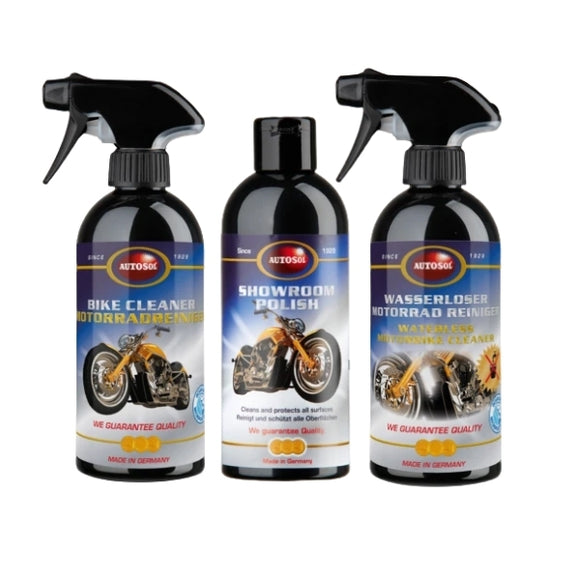 Motorbike Cleaning Set