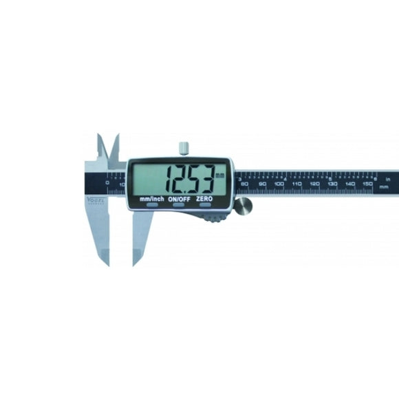 Digital Caliper with Fraction