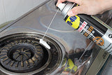 Degreasing kitchen top wd40