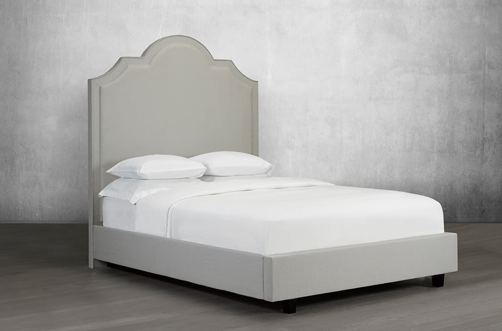 Sloane Bevelled-Cut Bed
