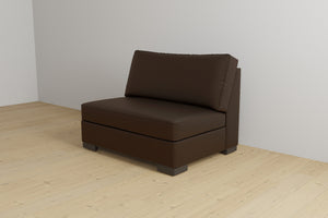 Armless Sleeper Chair