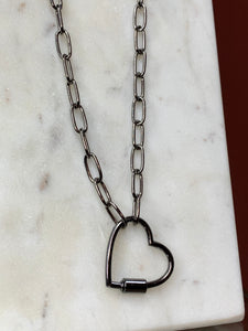 COLLIER LONG MAILLON COEUR