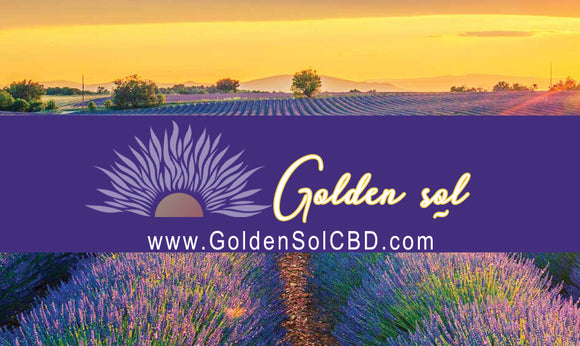 Golden Sol Gift Card - Golden Sol CBD Colorado CBD