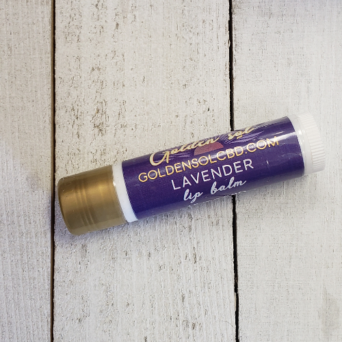 Lip Balm - Lavender - Golden Sol CBD Colorado CBD