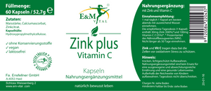 Zink plus Vitamin C