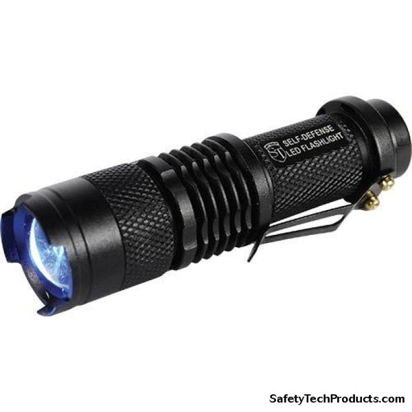 500 Lumen LED Zoomable Flashlight - Safety Tech Security Products