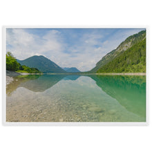 Load image into Gallery viewer, Sylvenstein Reservoir - Framed Poster