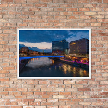 Load image into Gallery viewer, Schwedenplatz Framed Poster
