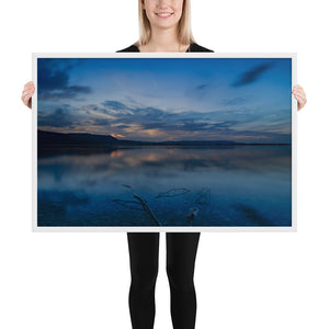Lake Kochelsee Framed Poster