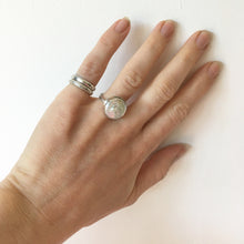 Load image into Gallery viewer, Hammered Silver Pinky Ring