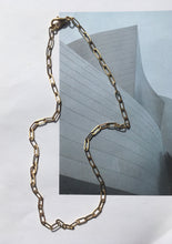 Load image into Gallery viewer, Rectangle Link 16K Gold Plated Chain