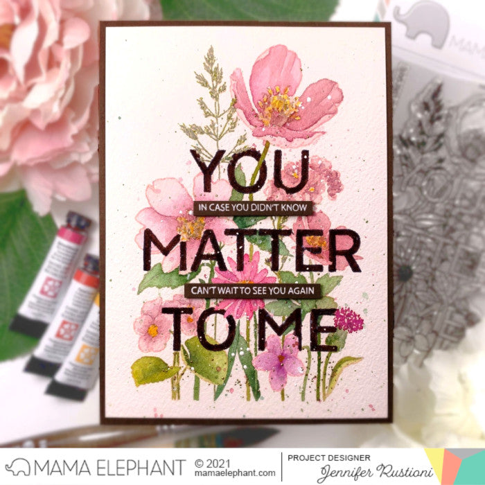 STAMP HIGHLIGHT: You Matter To Me