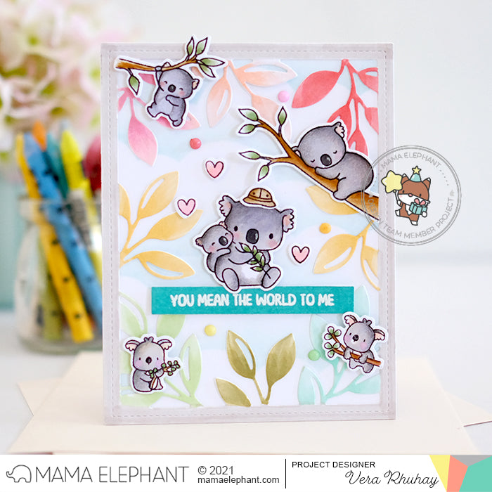 STAMP HIGHLIGHT: Koala Hugs