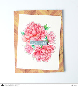 FLORAL SERIES - PRETTY PEONIES