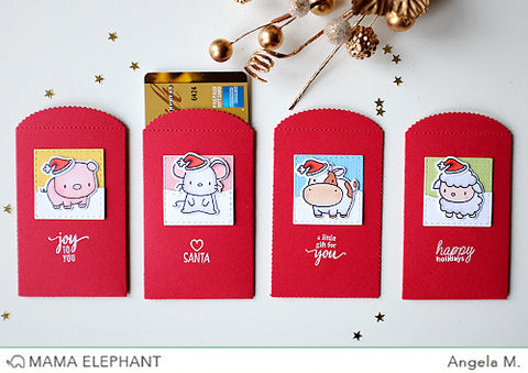 Mini Everyday Messages Mama Elephant clear stamp