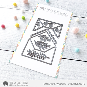 Botanic Envelope - Creative Cuts
