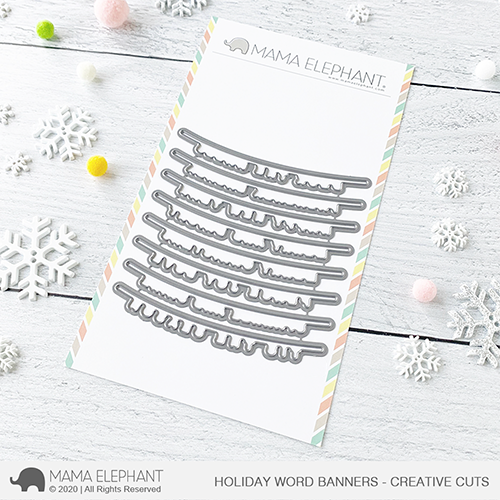 Holiday Word Banners - Creative Cuts