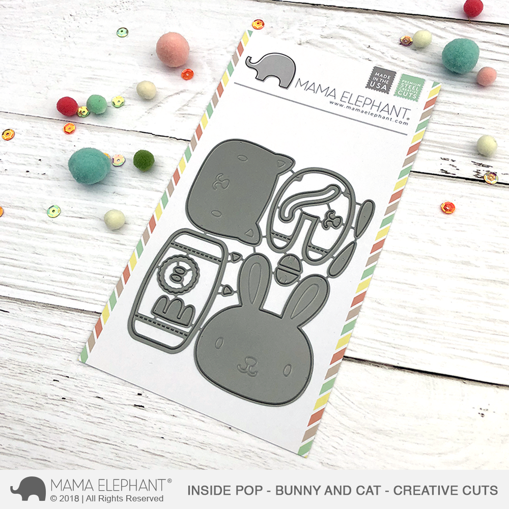 Inside Pop - Bunny and Cat - Creative Cuts