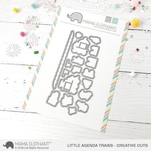 Little Agenda Trains - Creative Cuts