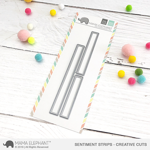Sentiment Strips - Creative Cuts