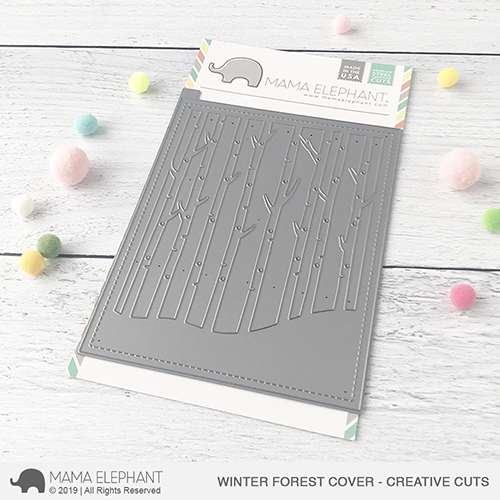 Winter Forest Cover - Creative Cuts