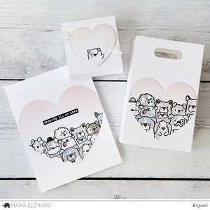 Favor Bag Accessory - Love - Creative Cuts