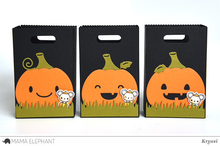 Mama Elephant Favor Bag Accessory - Pumpkin에 대한 이미지 검색결과