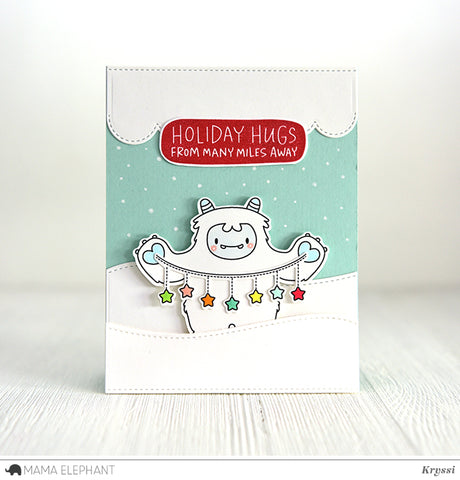 Puffy holiday greetings mama elephant puffy holiday greetings m4hsunfo