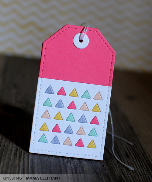 Embellished Tag - Creative Cuts