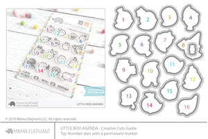 Little Boo Agenda Creative Cuts