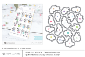 Little Girl Agenda - Creative Cuts