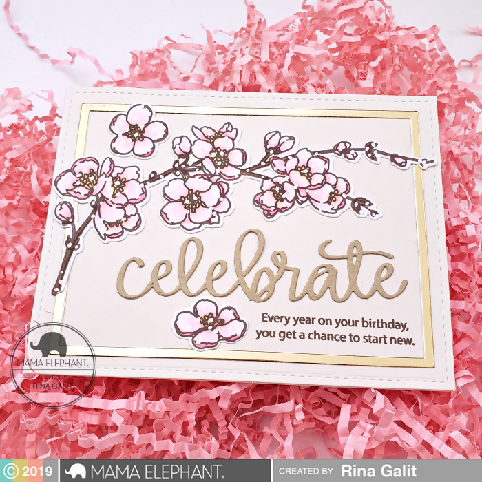 Celebrate Script - Creative Cuts