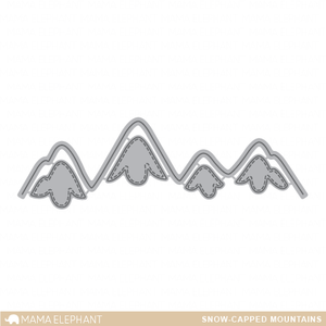 Snow Capped Mountains - Creative Cuts