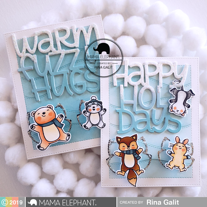 Big Warm Fuzzy Hugs - Creative Cuts