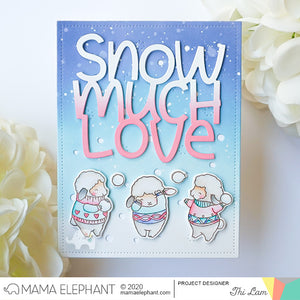 Big Snow Much Love - Creative Cuts