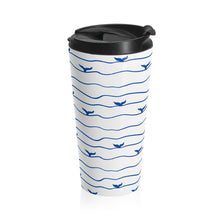 Load image into Gallery viewer, Whale Tail Stainless Steel Travel Mug