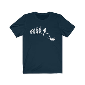 Scuba Diver Evolution T-Shirt