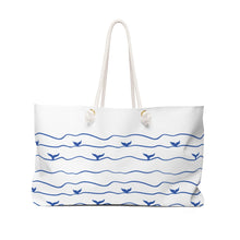 Load image into Gallery viewer, Whale Tail Weekender Bag