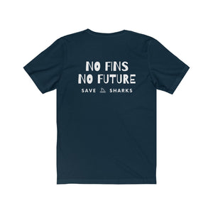 No Fins No Future - Save Sharks T-Shirt