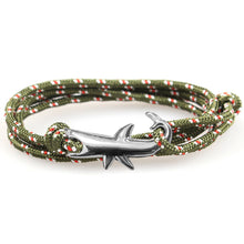Load image into Gallery viewer, Silver Shark Bracelet