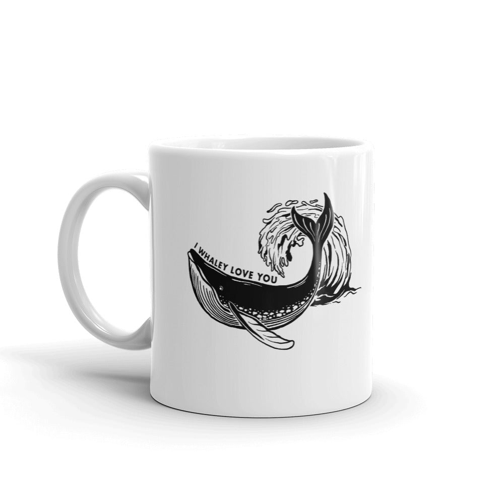 I Whaley Love You Mug