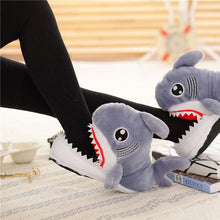 Load image into Gallery viewer, Great White Shark Slippers