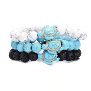 Turquoise Sea Turtles Bracelet