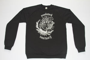 GRISTLE x WOODSTOCK SANCTUARY Collab Crew-neck Sweatshirt