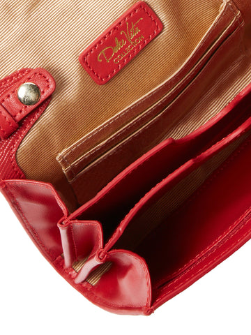 Lucy Crossbody in Red