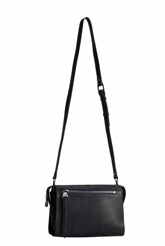 Lindsay Albanese x Dolce Vita Collection | Small Crossbody Satchel | Black