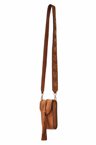 Madison Mini Phone Bag | Toffee