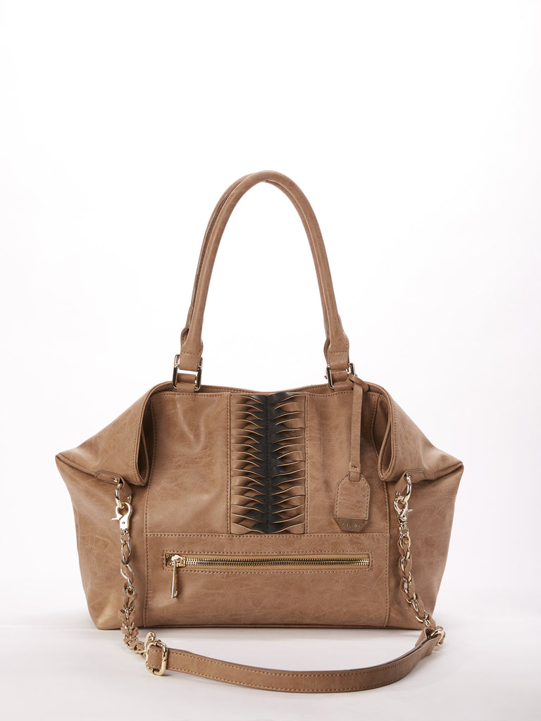 Chase Tote in Latte