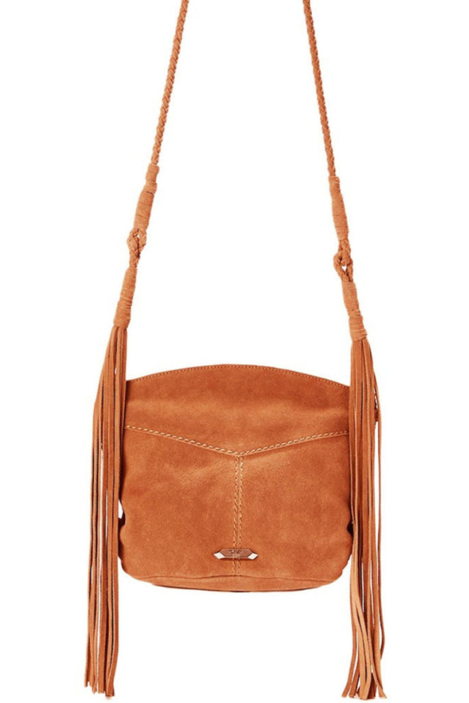 Cali Crossbody in Saddle